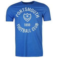 Team Portsmouth Graphic férfi póló királykék XL