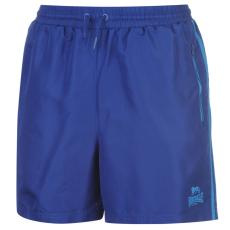 Lonsdale Two Stripe Woven férfi rövidnadrág kék M