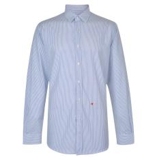 Moschino Férfi hosszú ujjú ing kék csíkos L
