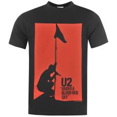 Official U2 férfi póló sötétszürke L