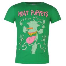 Official Meat Puppets férfi póló zöld L