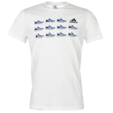Adidas Trainer QT férfi póló fehér XL