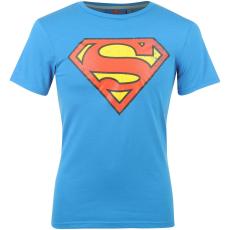 DC Comics Superman férfi póló kék XL