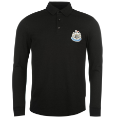 NUFC Férfi galléros póló fekete S