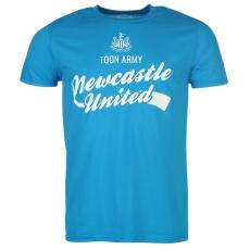 NUFC Newcastle United Graphic férfi póló világoskék XXL