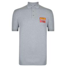Moschino Férfi galléros póló szürke XL