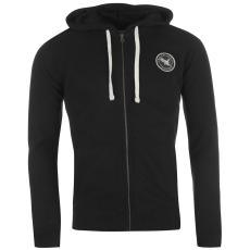 SoulCal Signature férfi kapucnis cipzáras pulóver fekete XL