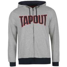 Tapout Férfi kapucnis cipzáras pulóver szürke XXL