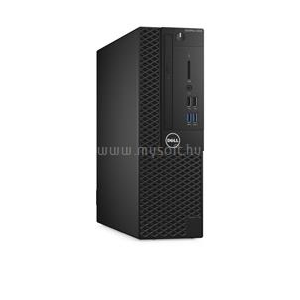 Dell Optiplex 3050 Small Form Factor | Core i3-7100U 2,4|32GB|0GB SSD|1000GB HDD|Intel HD 620|NO OS|3év (3050SF-3_32GBH1TB_S)