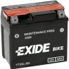 Exide YTX5L-BS 12V 4Ah motorkerékpár akkumulátor