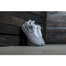 Nike W Air Force 1 Flyknit Low White/ White-Black