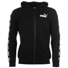Puma Rebel FZ férfi kapucnis pulóver fekete S