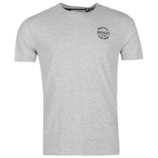 SoulCal Signature Crew férfi rövid ujjú póló szürke M