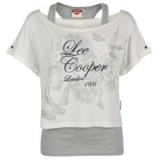 Lee Cooper Póló Lee Cooper Double Layer női