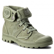 Palladium Bakancs PALLADIUM - Pallabrouse Baggy 92478316M Oilgreen/Silverbirch