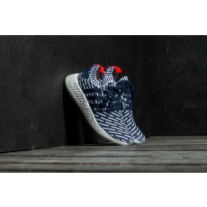 ADIDAS ORIGINALS adidas NMD_R2 Primeknit Collegiate Navy/ Collegiate Green/ Ftw White