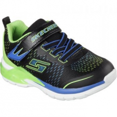 Skechers Lights Erupter II Lava Arc gyerek sportcipő, Blue/Lime, 30 (90551L-BBLM-30)