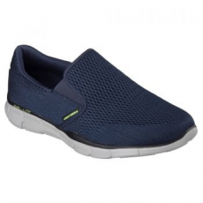 Skechers Equalizer Double Play férfi sportcipő, Navy, 40 (51509-NVY-40)