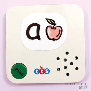 TTS Mini beszélő kártyák (7,5x7,5 cm - 3 db)