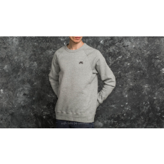 Nike SB Icon Fleece Crew Heather Grey