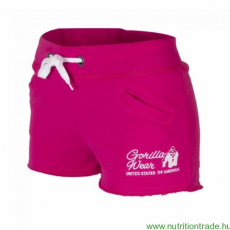 Gorilla Wear Női NEW JERSEY SWEAT SHORT pink S Gorilla Wear