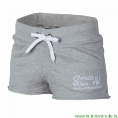 Gorilla Wear Női NEW JERSEY SWEAT SHORT szürke XS Gorilla Wear