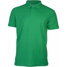 KEYA férfi galléros piké póló, kelly green
