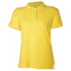 KEYA Női galléros piké póló, sárga