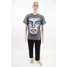 Tetovált női arc - férfi póló