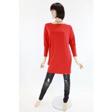 Különleges szabású piros ruha / felső
