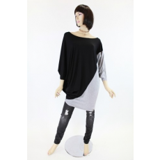 Fekete-szürke női felső / ruha