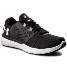 Under Armour Cipők UNDER ARMOUR - Ua Micro G Fuel Rn 1285670-001 Blk/Wht/Wht