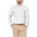 United Colors of Benetton Halványkék Férfi Slim Fit Ing, S (5AWR5Q398-081-S)