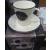 R2S Easy Life Kitchen porcelán kávés csésze+alj, 10 cl, 2 db, 153353