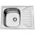 Sinks Mosogatók OKIO 650 V 0,6 mm matt