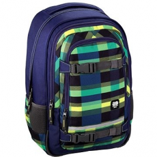 Hama All Out Selby Backpack Summer Check Green