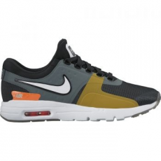 Nike Air Max Zero SI férfi sportcipő, Black/Light Bone, 39 (881173-001-8)