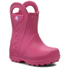 CROCS Gumicsizmák CROCS - Handle It Rain Boot Kids 12803 Candy Pink