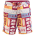 O'Neill PM Socal Boardshorts Beach short,fürdőnadrág D (O-7A3116-q_3900-RED AOP)