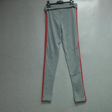 Csakcsajok Szürke leggings piros csíkkal - Egy méret