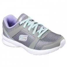 Skechers Stepz-Speed Dial gyerek sportcipő, Grey/Light Green, 30 (996275L-GYLV-30)