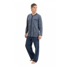 WADIMA Férfi pizsama végig gombos
