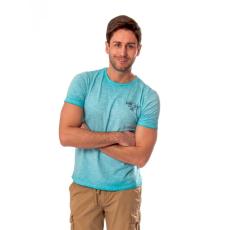 HEAVY TOOLS MITTER turquoise Férfi póló