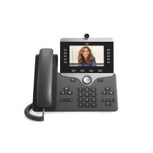 Cisco CP-8865-K9 Cisco IP Phone 8865, 800 x 480 pixels, G.711,G.722,G.729A,iLBC, H.264, 1280 x 720 pixels, Gigabit Ethernet, 4.1 LE