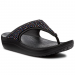 CROCS Vietnámi papucsok CROCS - Sloane Emblished Flip 204181 Black/Multi