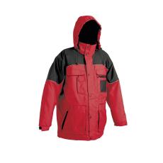 Cerva ULTIMO kabát piros-fekete M