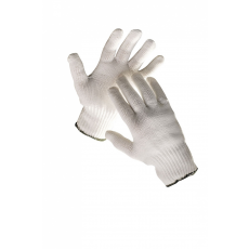 Cerva SKUA fehér szilon kesztyű női - 9