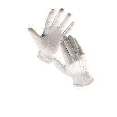 Cerva Bustard mikropöttyös kesztyű fehér  - 10