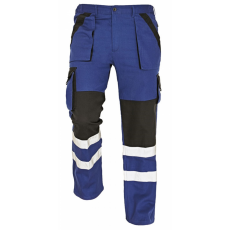 Cerva MAX REFLEX nadrág kék/fekete 62