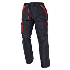 Cerva MAX nadrág fekete/piros 64